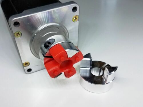 8mm x 16mm Flexible Jaw Ballscrew Shaft Coupling CNC Servo Stepper Motor Coupler