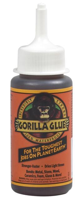 115ml Genuine Gorilla Glue, tough, waterproof for wood, stone, metal, ceramic.