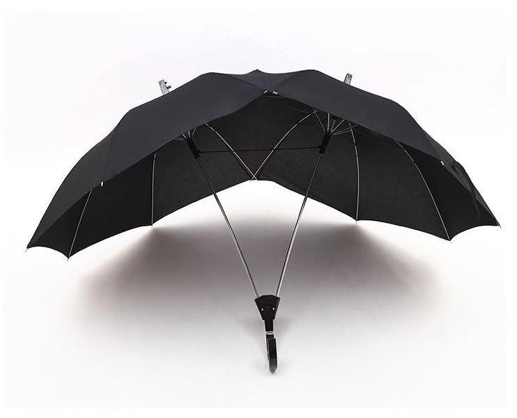 Two-People Modern Novelty Umbrella / Couple's Umbrella