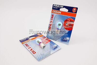 PR21W//5W 21W Osram Rear Tail Light Bulb x1 Diadem Extra Lifetime BAW15d