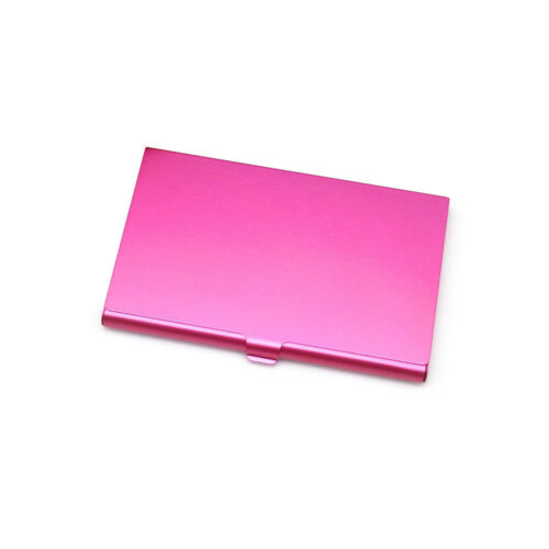 5pcs Metal ID Credit Card Holder Aluminum Alloy Business Card Case free shipping
