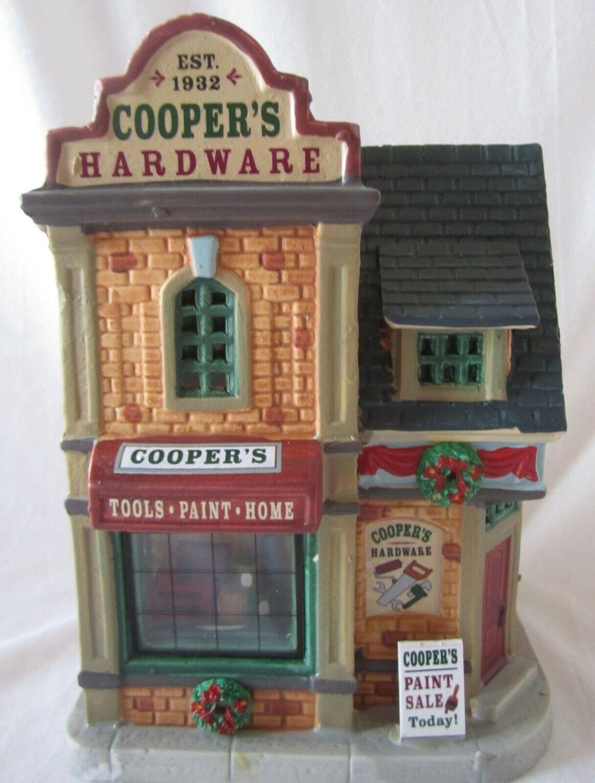 Lemax Christmas Village COOPER'S HARDWARE   85415 @2018 NEW