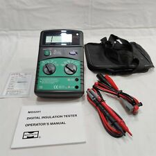 Mastech Ms5201 Digital Insulation Tester 1000v Catii Made In Taiwan