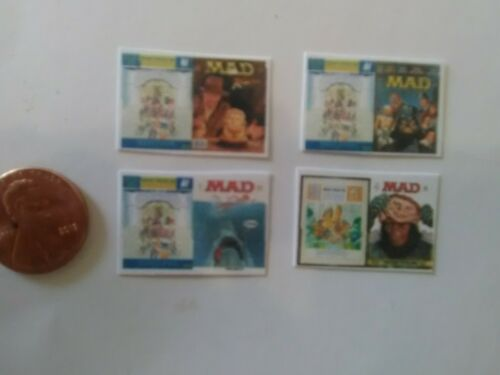 Mad Magazines dollhouse miniature books