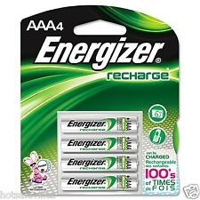 Energizer Rechargeable NiMH AAA Batteries - 4 count