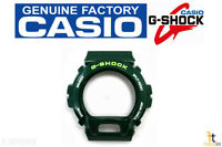 Casio Dw-6900cc-3w G-shock Original Green Metallic (glossy) Bezel Case Shell