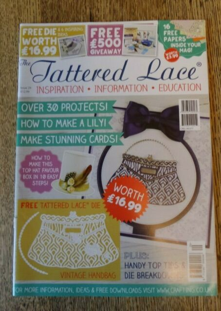The Tattered Lace Craft Magazine Issue 29 Paper But No Die