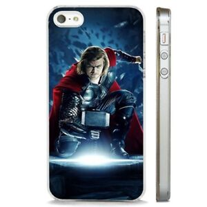 outlet store sale 24d73 5dff8 Details about Thor Avengers Chris Hemsworth CLEAR PHONE CASE COVER fits  iPHONE 5 6 7 8 X