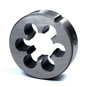 Pour cage Ø 30 mm DIN223 Filière à main HSS pas mètrique M11 x 1,5 mm