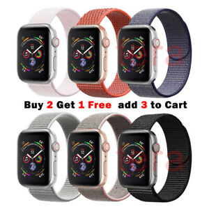 Sport-Nylon-Woven-Loop-Strap-iWatch-Band-for-Apple-Watch-Series-5-4-3-21-40mm-44