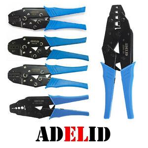 ADELID Crimpzange für Aderendhülsen Presszange 0,5-4/6-16/10-35/25-50mm²