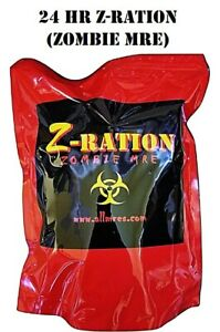 MRE 24 hr Ration (FSR) 1st Insp.Date '21 - '23 Z-Ration (Zombie MRE) line!