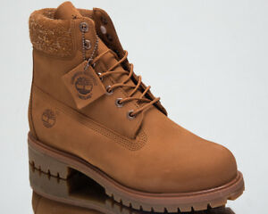 Details zu Timberland 6 Inch Premium Waterproof Boots Men's New Lifestyle Shoes Brown A1UE8