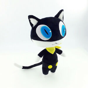Persona 5 P5 Morgana Mona Black Cat Soft Stuffed Plush Doll Animal Cosplay Prop