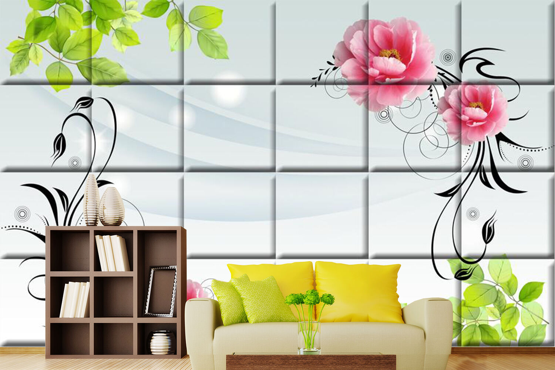 3D Simple Flowers Leaves 188 Wall Paper Wall Print Decal Wall AJ WALLPAPER CA