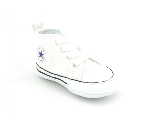 4b21a26def 2 Pairs Lacoste and Converse Crib First Star Boys Girls Trainers ...