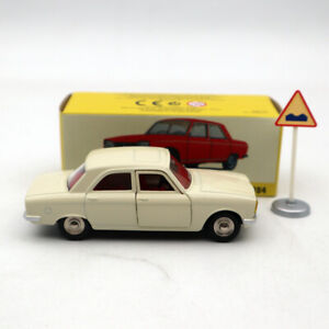 Atlas-1-43-Dinky-Toys-1428-peugeot-304-White-DIECAST-models-Limited-Edition