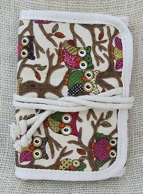 Crochet Hook and Notions Roll Case Organizer