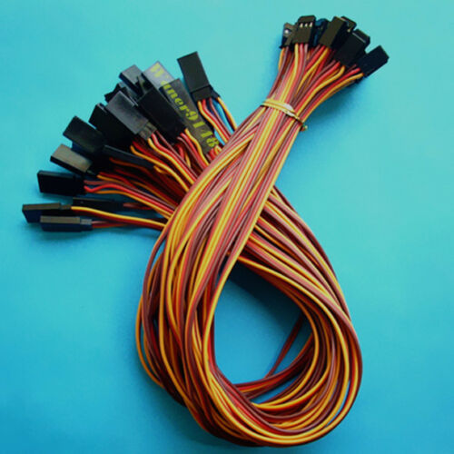 30 x 3Pin  30cm 22awg Servo Cable Extension Extend Lead Wire For RC Plane