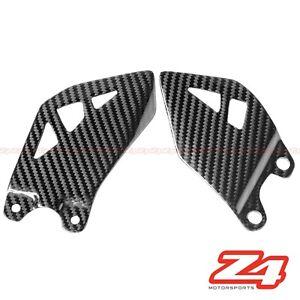 For 2013-2016 Yamaha MT07 Rearset Foot Peg Mount Heel Guard Plate Carbon Fiber