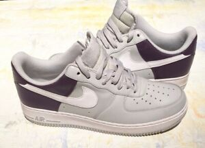 Details about NIKE AIR FORCE ONE LOW GREY/PURPLE/WHITE MEN'S SIZE 10  315122-050