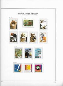 2001-MNH-Nederlandse-Antillen-year-complete