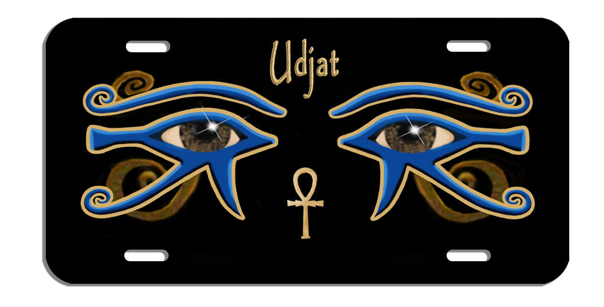 """Eye of Ra Udjat Decal Bumper Sticker Egyptian Personalize Gifts Men Ladies 10/"""""""
