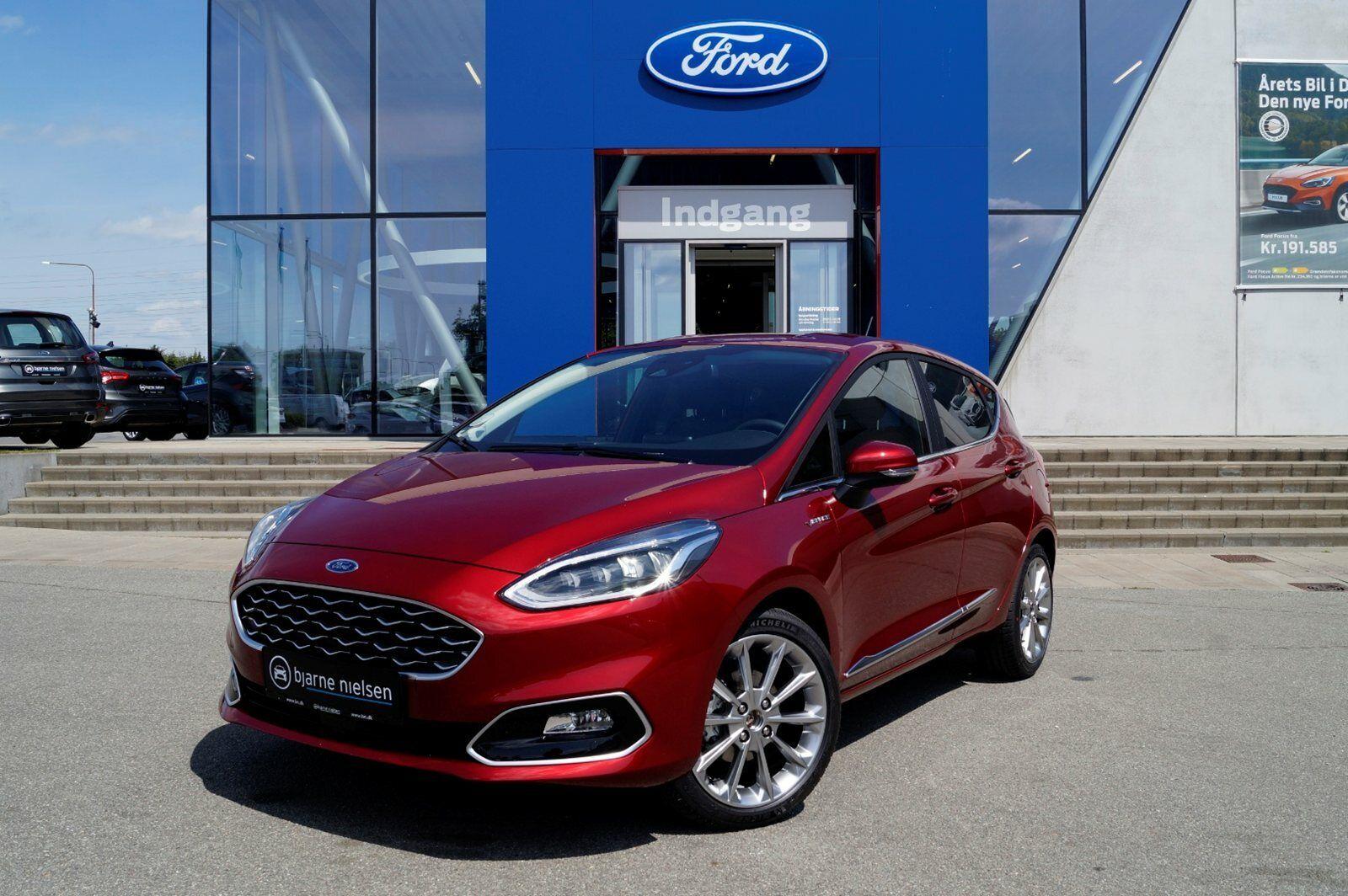 Ford Fiesta 1,0 SCTi 140 Vignale