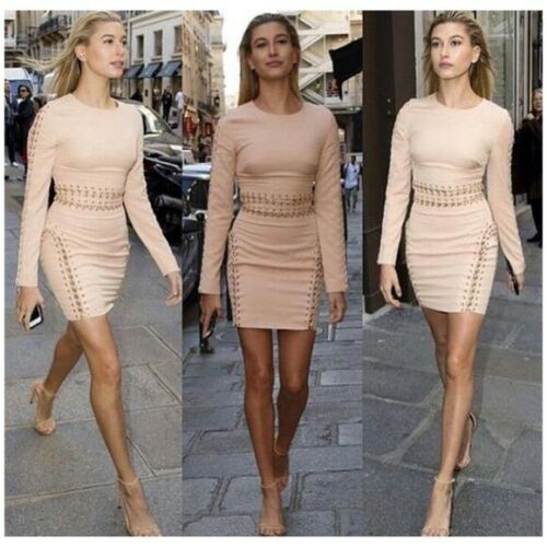 House of CB Anuki dress in Nude