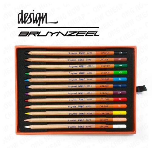 Bruynzeel Design Artist Box of 12 High Quality Colouring Pencils