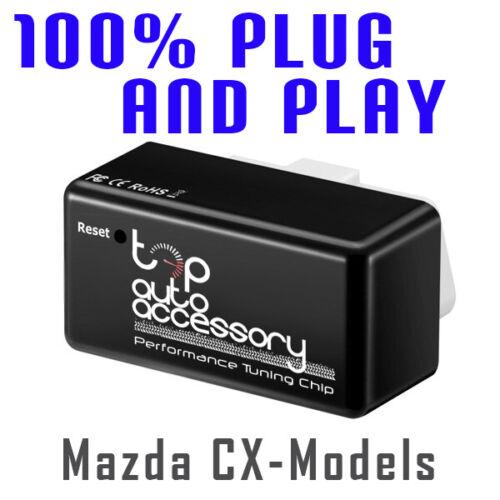 Performance Tuning Tuner Speed OBDII OBD2 OBD II 2 Chip Module ECU for Mazda CX