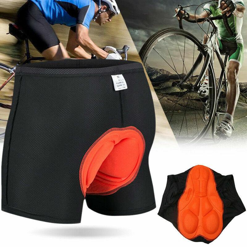 Damen Herren 3D Fahrradhose Gepolstert Radhose Unterhose Kurz Hose Shorts