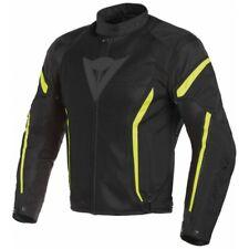 Giacca Dainese Vr46 Air Tex Nero Giallo fluo Moto Jacket