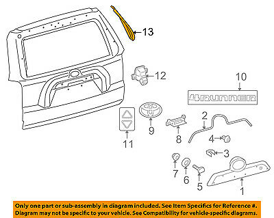 Genuine Toyota Applique Panel 75815-35030