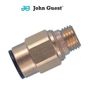 John-Guest-Ajustement-Par-Poussee-Pneumatique-Laiton-a-Clipser-Fil-Connecteur