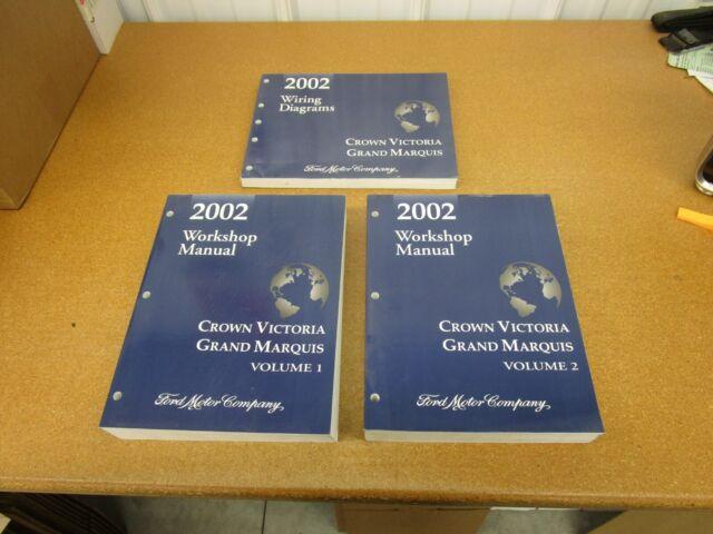 2002 Ford Crown Victoria Grand Marquis Service Shop