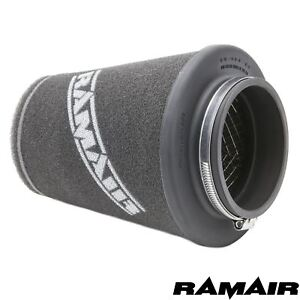 RAMAIR-INDUCTION-FOAM-CONE-AIR-FILTER-UNIVERSAL-70mm-NECK-HAND-MADE-IN-THE-UK