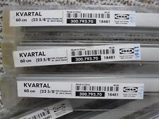 IKEA KVARTAL Paneelwagen Laufleisten+ Beschwerung Alu für Schiebevorhänge 60 cm