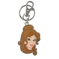 Disney Princess Belle Double Sided Keychain Toys Keyring Movie Kids