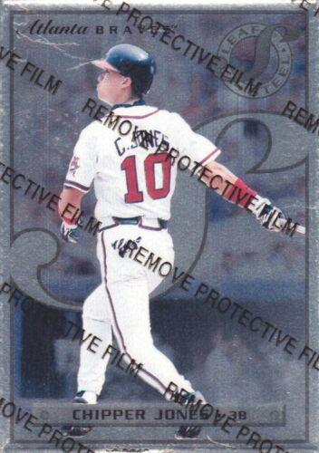 1996 Leaf Preferred Steel Baseball Cards Pick From List