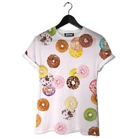 Brand Womens Beloved Donuts Tee Shirt Small-large Hand Made In The Usa