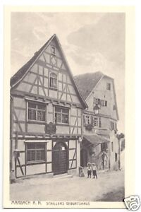 N. Um 1925 Marbach A Schillers Geburtshaus Genossenschaft Ak