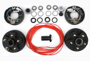 Image Is Loading Add Electric Brakes To Trailer Complete Dexter Kit
