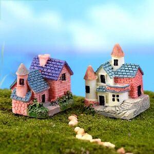Fai Da Te Miniatura Per Giardino Lavori Creativi Resina Casa Micro