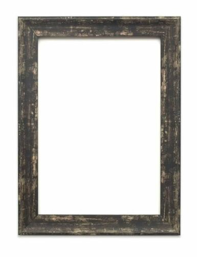Industrial vintage wood effect//Camouflage Picture//Photo//Poster frame Black