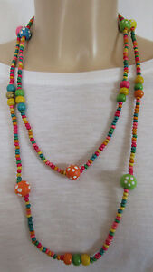 Range-Of-Multicoloured-Necklace-Made-Of-Plastic-Wood-By-Juelz
