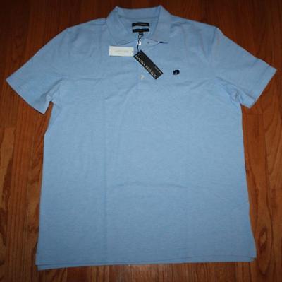 NEW NWT Mens Banana Republic Wicking Pique 100/% Cotton Polo Shirt Blue $39 *5T