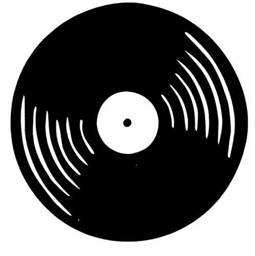 LP old school vinyl record  Vinyl STICKER DECAL  BUY 2 GET 1 FREE AUTOMATICALLY