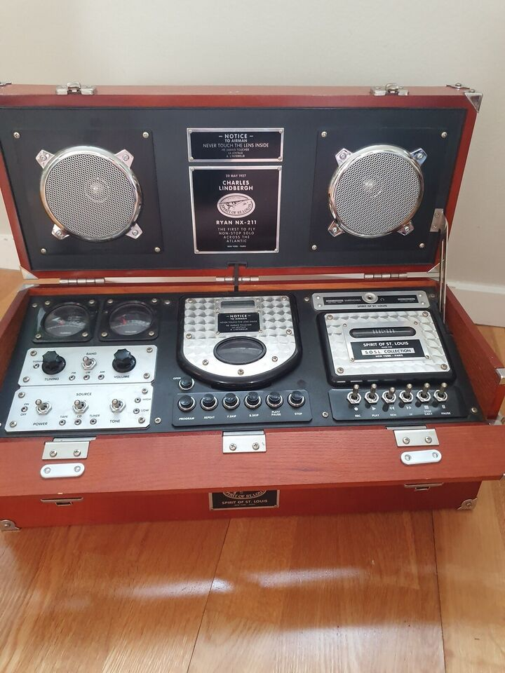 "Anden radio, Andet, Spirit of St. Louis"": Field CD MK II"