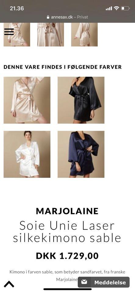 Kimono, Marjolaine Silke kimono, Marjo Laine